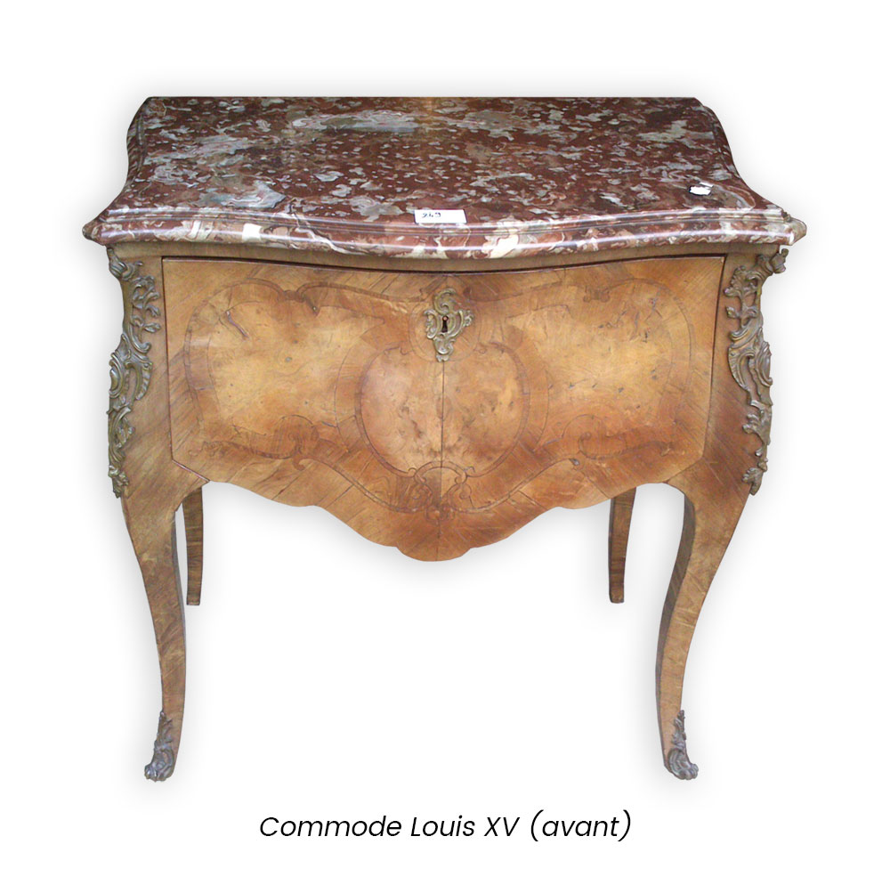 Ebéniste Caen - Commode-louis-XV (avant)